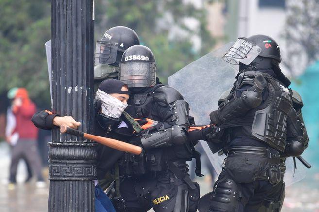 La violencia policial crece en Colombia. Foto: El Espectador.