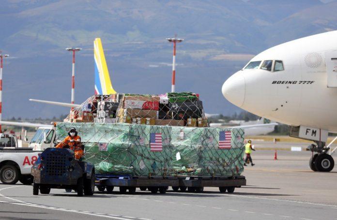 Segundo cargamento EEUU